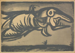 Georges Rouault (French, 1871-1958)       The Sea Monster