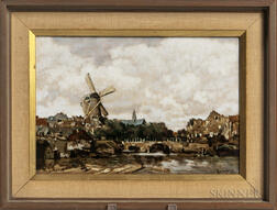 Rozenburg Porcelain Plaque