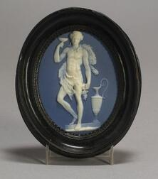 Wedgwood and Bentley Solid Blue Jasper Medallion