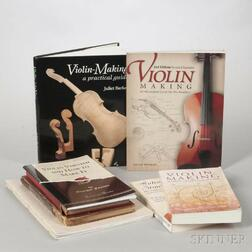Nine Books on Violins and Violin-making