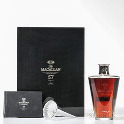Macallan in Lalique 57 Years Old, 1 750ml bottle (pc)
