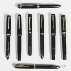 Eight European Fountain Pens