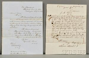 Civil War Documents.