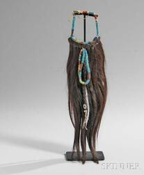 Northern Plains Beaded Hair Fall