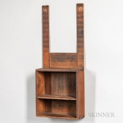 Shaker Pine Hanging Shelf