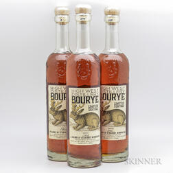 High West Bourye, 3 750ml bottles