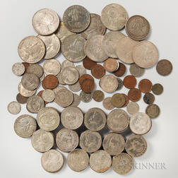 Group of Panamanian Coins