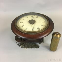 Mahogany Wall Clock