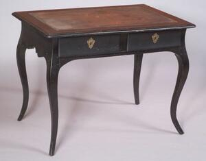 Louis XV Style Ebonized Writing Table