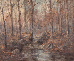 Hal Robinson (American, 1867-1933)      Autumn Wood