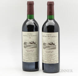 Chateau Tertre Roteboeuf 1989, 2 bottles