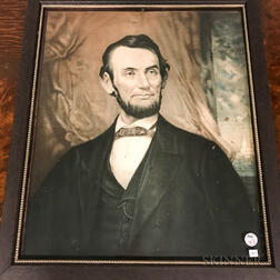Three Framed Abraham Lincoln Images