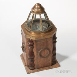 Unusual Janet Taylor & Co. Ship's Binnacle