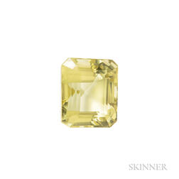 Unmounted Green Citrine