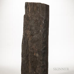 Ebony Log