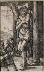 Albrecht Dürer (German, 1471-1528)      The Man of Sorrows by the Column