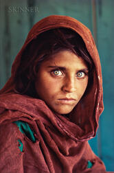 Steve McCurry (American, b. 1950)      Afghan Girl (Sharbat Gula), Refugee Camp, Pakistan