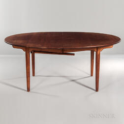 Hans J. Wegner for Johannes Hansen Teak Dining Table