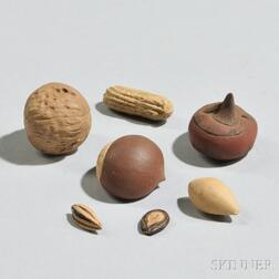 Yixing Dish with Nine Nuts and Seeds