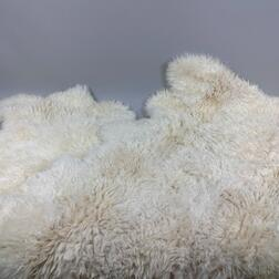 Two Shearling Rugs.     Estimate $100-150