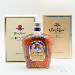 Mixed Crown Royal, 2 liter bottles 1 750ml bottles