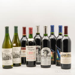 Mixed Napa Wines, 9 bottles