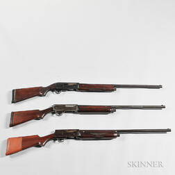 Three Semi-automatic 12-gauge Shotguns
