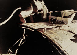 Taken by a 16mm Maurer Camera Mounted on the Hatch of the Command Module