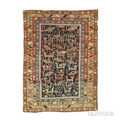 Shirvan Rug with Animals