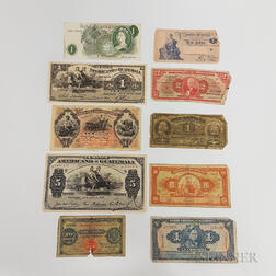 Group South American Currency