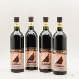Dry Creek Vineyard Cabernet Sauvignon 1990, 4 bottles