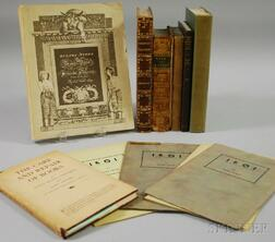 Twelve Assorted Books and Pamphlets