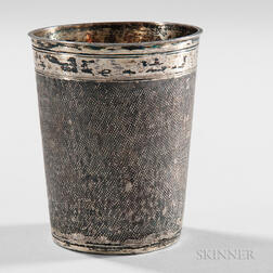 German Silver-gilt Beaker