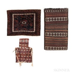 Two Baluch Bags and an Afshar Salt Bag
