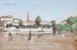 Attributed to Gustave Adolph Wiegand (American, 1870-1957)      Venetian Scene