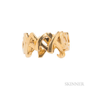 18kt Gold Ring, Paloma Picasso for Tiffany & Co.