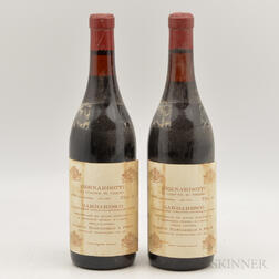 Mascarello Barbaresco Bernardotti 1978, 2 bottles