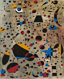 Joan Miró (Spanish, 1893-1983)      Two Works: Le 13 l'échelle a frôlé le firmament