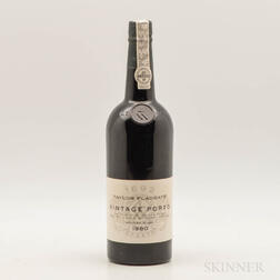 Taylor Vintage Port 1980, 1 bottle