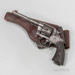 Colt Model 1895 Double-action Army Revolver and Holster
