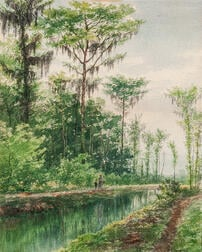 Charles Wesley Sanderson (American, 1835-1905)      Southern Canal
