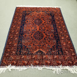 Possibly Southwest Persian Rug with Turkoman Colors and Persian Design