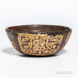 Teotihuacan Polychrome Bowl
