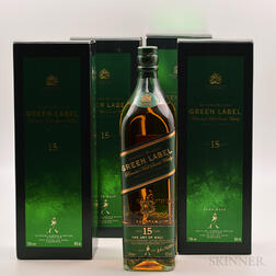 Johnnie Walker Green Label, 4 liter bottles