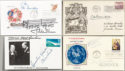 Signed First Day Covers.