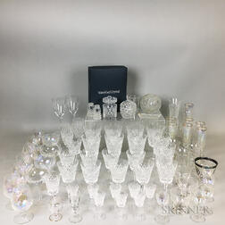 Thirty-two Pieces of Waterford Glass Stemware