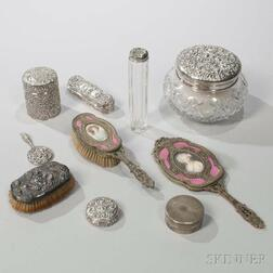 Group of Assorted Vanity Items