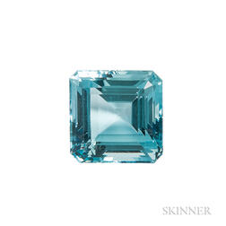 Unmounted Aquamarine