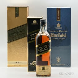 Johnnie Walker, 3 bottles