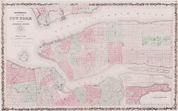 New York City & State, Seventeen 19th Century and c. 1900 Maps.